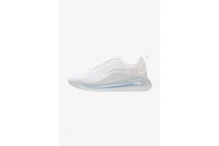 Black Friday 2020 | Nike AIR MAX 720 - Baskets basses white/metallic platinum pas cher