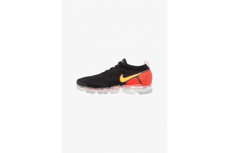 Nike AIR VAPORMAX FLYKNIT - Chaussures de running neutres black/white/team red/racer blue/game royal pas cher