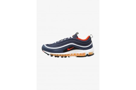 Nike AIR MAX 97 - Baskets basses midnight navy/habanero red/black/white/laser orange pas cher