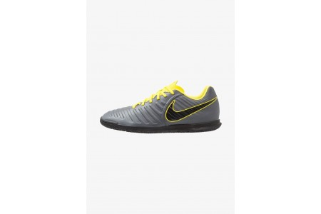 Black Friday 2020 | Nike TIEMPO LEGENDX 7 CLUB IC - Chaussures de foot en salle dark grey/optic yellow/black pas cher