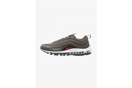 Nike AIR MAX 97 - Baskets basses sequoia/university red/metallic dark grey pas cher