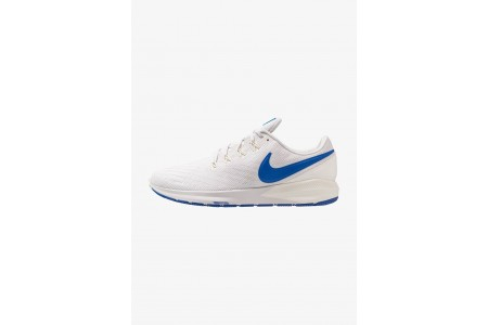 Nike AIR ZOOM STRUCTURE  - Chaussures de running stables vast grey/game royal/sail/blue lagoon pas cher