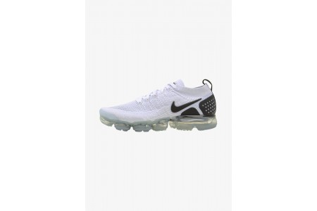 Black Friday 2020 | Nike AIR VAPORMAX FLYKNIT - Chaussures de running neutres white/black pas cher