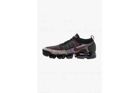 Black Friday 2019 : Nike AIR VAPORMAX FLYKNIT - Chaussures de running neutres black/multicolor pas cher