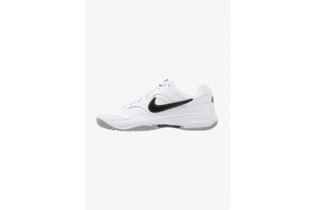 Nike COURT LITE - Baskets tout terrain white/black/medium grey pas cher