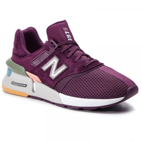 New Balance Sneakers MS997XTB Violet vente