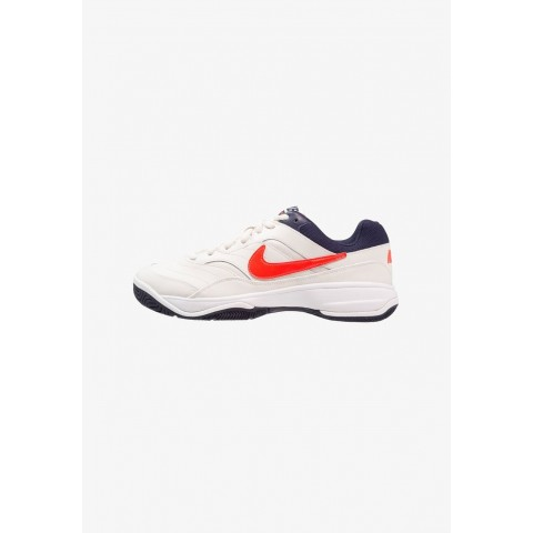 Nike COURT LITE - Baskets tout terrain phantom/bright crimson/white/blackened blue pas cher