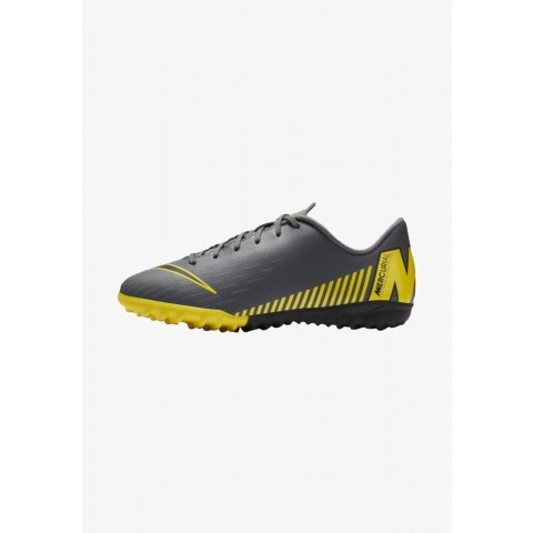 Nike MERCURIAL VAPORX  - Chaussures de foot multicrampons dark grey/yellow/black pas cher