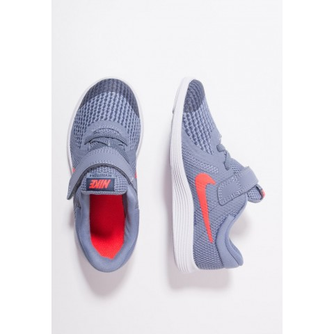 Nike REVOLUTION 4 - Chaussures de running neutres ashen slate/flash crimson/diffused blue pas cher
