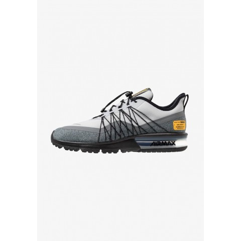 Nike AIR MAX SEQUENT 4 UTILITY - Chaussures de running neutres wolf grey/reflect silver/cool grey/black/amarillo pas cher