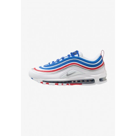 Nike AIR MAX 97 - Baskets basses game royal/metallic silver/university red pas cher