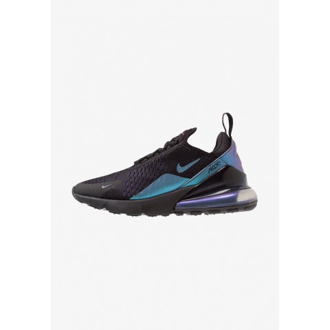 Nike AIR MAX 270 - Baskets basses black/laser fuchsia/regency purple/anthracite pas cher
