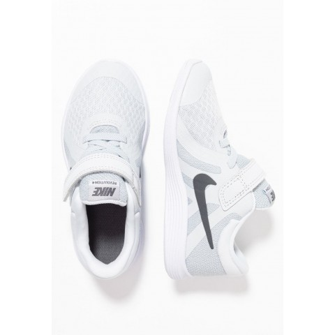 Nike REVOLUTION 4 - Chaussures de running neutres pure platinum/dark grey/wolf grey/white pas cher