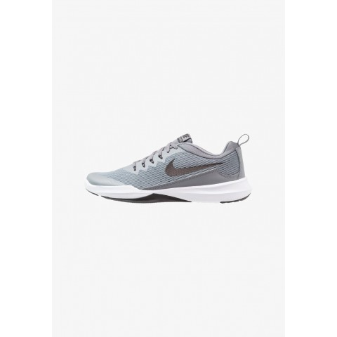 Nike LEGEND TRAINER - Chaussures d'entraînement et de fitness cool grey/black/white/clear emerald pas cher