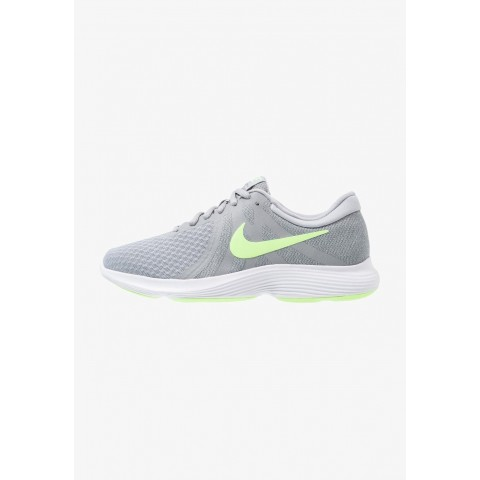 Nike REVOLUTION 4 EU - Chaussures de running neutres wolf grey/lime blast/cool grey/white pas cher