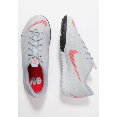 Nike MERCURIAL VAPORX  - Chaussures de foot multicrampons wolf grey/light crimson/pure platinum/metallic silver pas cher
