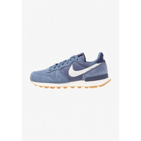 Nike INTERNATIONALIST - Baskets basses diffused blue/summit white/neutral indigo/sail/light brown pas cher