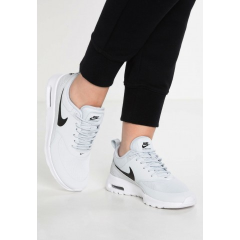 Nike AIR MAX THEA - Baskets basses pure platinum/black/white pas cher