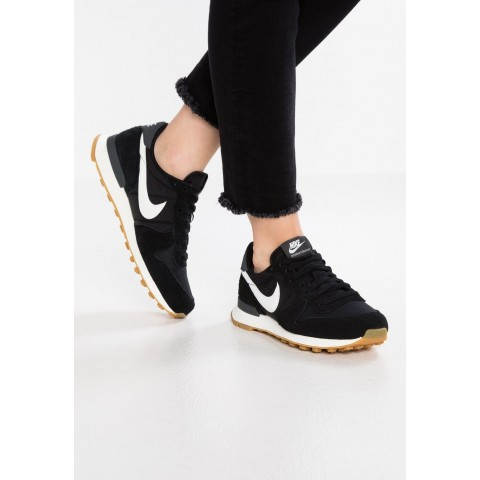 Nike INTERNATIONALIST - Baskets basses black/summit white/anthracite/sail pas cher