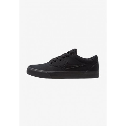 Nike CHARGE SLR - Baskets basses black pas cher