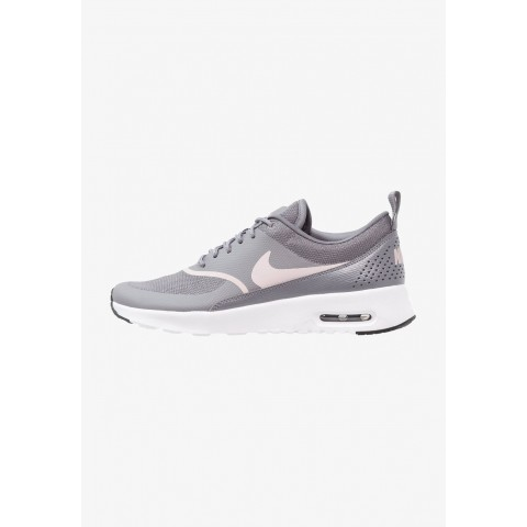 Nike AIR MAX THEA - Baskets basses gunsmoke/particle rose/black pas cher