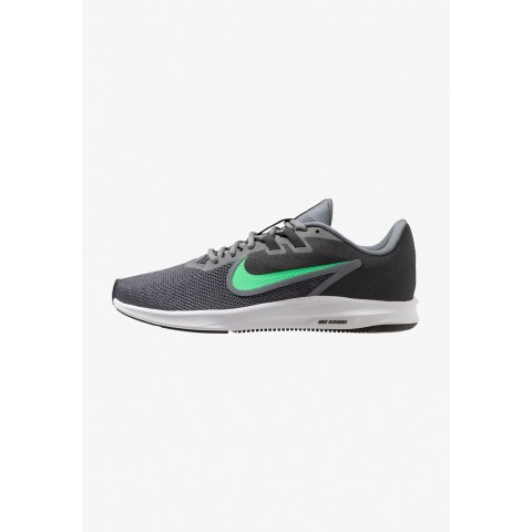 Nike DOWNSHIFTER 9 - Chaussures de running neutres cool grey/electro green/anthracite/black pas cher