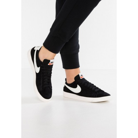 Nike BLAZER LOW SD - Baskets basses black/sail pas cher