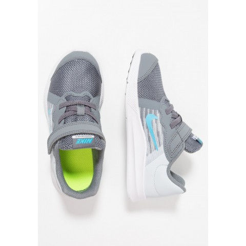 Nike DOWNSHIFTER  - Chaussures de running neutres cool grey/blue fury/pure platinum/white pas cher