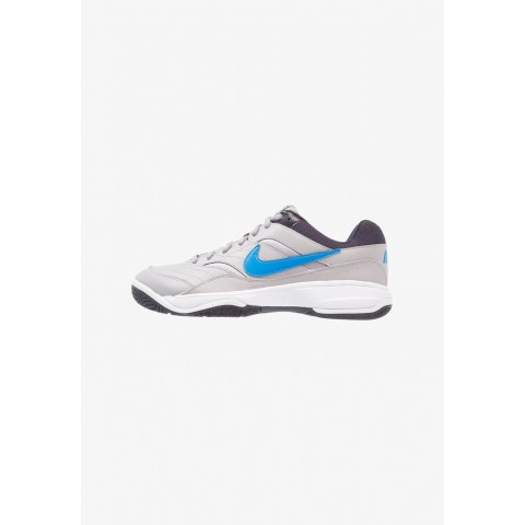 Nike COURT LITE - Baskets tout terrain atmosphere grey/photo blue/platinum tint/gridiron pas cher