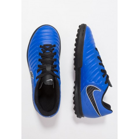 Nike TIEMPO LEGENDX 7 CLUB TF - Chaussures de foot multicrampons racer blue/black/wolf grey pas cher
