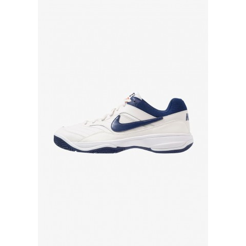 Nike COURT LITE - Baskets tout terrain phantom/blue void/sail/black pas cher