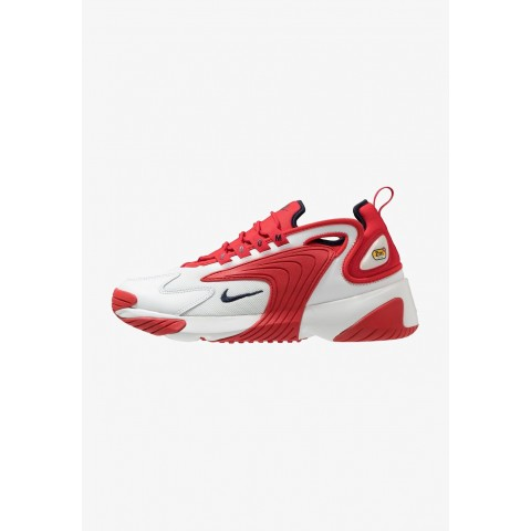 Nike ZOOM 2K - Baskets basses offwhite/obsidian/university red pas cher